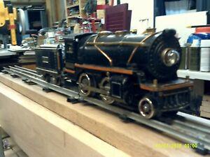 Lionel 258 Locomotive with brass trim & 257T coal tender