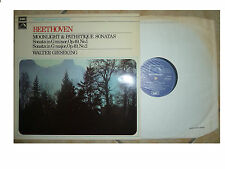 EMI / HMV SXLP 30129 * BEETHOVEN * MOONLIGHT & PATHETIQUE SONATAS GIESEKING