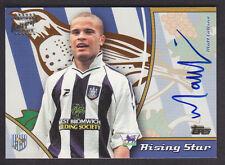 Topps Premier Gold 2003 - Autograph Card - Matt Collins - West Bromwich Albion
