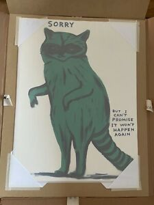 David Shrigley - I'm Sorry But I Can't Promise That It Won't Happen Again Racoon