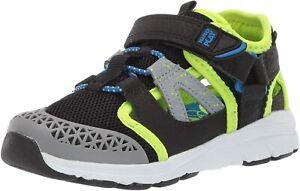 Stride Rite Made2Play Toddler Boy's Nesta Athletic Sneaker Shoe Black Size 4.5 W