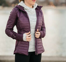 Lululemon First Mile Jacket size 4 Darkest Magenta NWT Purple Winter Run Coat