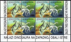 ✔️ CROATIA 1994 DINOSAURS **MNH SOUVENIR SHEET