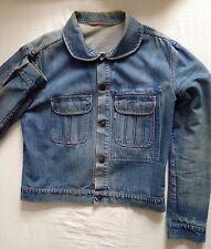 original Levis Vintage Jacket Jeans Jacke Sammlerstück! round pockets collar $$$