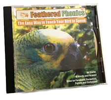 Feathered Phonics #1 Cd Teach Your Bird to Speak 96 Tracks of Words Phrases