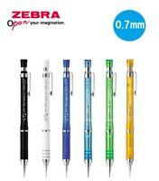 Zebra Tect 2way Light Mechanical Pencil 0.7mm 6 Body Color Select