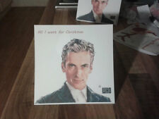 Doctor Who Christmas Card 12th Doctor Peter Capaldi. 1st Class.