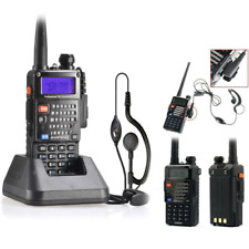 Police Fire Radio Handheld Scanner Transceiver Portable Antenna Dual Band Freq