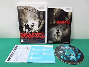 Nintendo Wii -- DISASTER - DAY OF CRISIS -- *JAPAN GAME* 51378