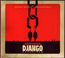 DJANGO UNCHAINED Soundtrack OST Ennio Morricone James Russo CD Quentin Tarantino