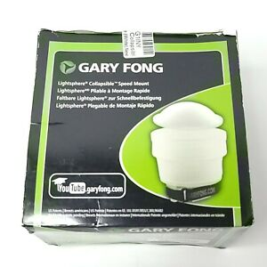 Gary Fong Collapsible Speed Mount Light Sphere (White) Open Box LSC-SM