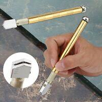 Metal Handle Steel Rhinestone Self-lubricating Oil Feed Tipped Glass Cutter