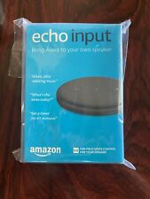 Amazon Echo Input - Black - Brand New