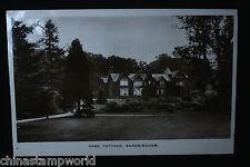 old GB postcard,York cottage,Sandringham with KG stamps dd 25 MY 14