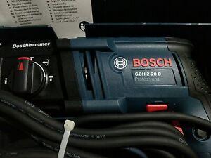 Bosch GBH 2-20 D 110v Hammer Drill / BNIB / FAST POSTING