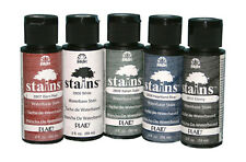 PLAID FOLKART Wood STAINS 2OZ 59ml Waterbased Stain FInish