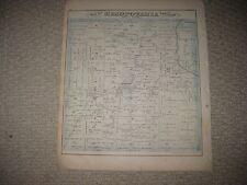 ANTIQUE 1874 MESOPOTAMIA TOWNSHIP TRUMBULL COUNTY OHIO MAP NORTH BLOOMFIELD RARE
