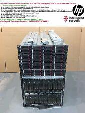 HP C7000 solución San 79.2TB de 8 GB 16x HP BL460c Gen8 E5-2670 2048GB Ram