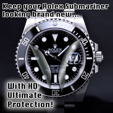 For Rolex Submariner HD Clear Crystal Protector, w DateWindow n Bezel