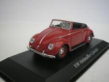 VW Volkswagen Hebmüller Cabriolet 1950 Rojo 1/43 maxichamps 940052131 Nuevo