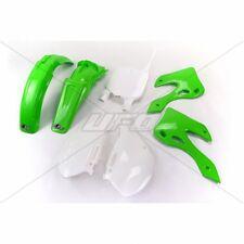 UFO KIT PLASTICHE COMPLETO KAWASAKI KX 125 250 2000 2001 VERDE GREEN PLASTIC KIT
