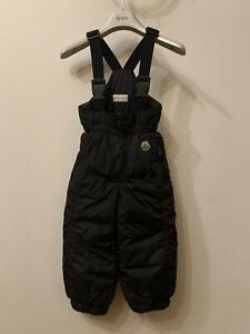 Moncler kids boys/girls down ski pants size 3 years