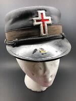Vintage Knight Of Templar Masonic Hat Cap /The M.C. Lilley & Co. / John G Keil