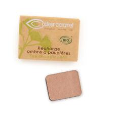 Recharge Fard à Paupières n°57 Sable doré nacrée Bio - 1,3 g - Couleur Caramel