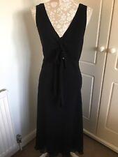 Per Una Black Long Dress 18 New With Tags