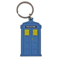 Police Box Flexible Keyring