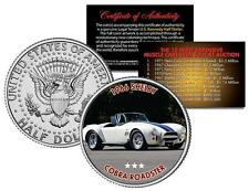 1966 SHELBY COBRA ROADSTER Auction Muscle Car Colorized JFK Half Dollar US Coin