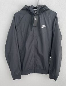 Nike Sportswear Windrunner Windbreaker Size Large Hooded Jacket AT5270-010 A291