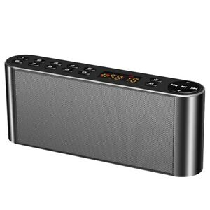 Bluetooth Speaker Portable Wireless Dual Soundbar TF FM Radio USB HIFI Sound Box