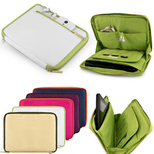 """VanGoddy Padded Leather Tablet Sleeve Pouch Case Bag For 8"""" Samsung Galaxy Tab A"""