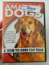 AMAZING DOGS & HOW TO CARE FOR THEM, 2008 DVD, BRAND NEW, FACTORY SEALED!!!