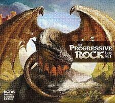 PROGRESSIVE ROCK BOX 3 CD NEW+ BOX-SET CARMEN/FOCUS/GENESIS/STEVE HACKETT