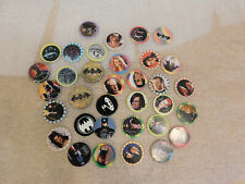 Complete 1995 32 Batman Forever Mcdonalds Pog Set with 2 slammers