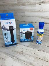 TOP FIN BETTAFLO BF5 Filter & CH100 Aquarium Heater & API Stress Coat Bundle