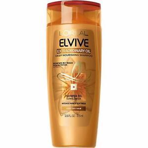 New L'Oréal Paris Elvive Extraordinary Oil Deep Nourishing Shampoo, 12.6 fl. oz