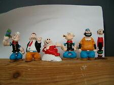 6  figurines figures figuras figuren pvc popeye artoys
