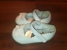 Wonderkids Elegant Toddler Girls Floral Dress Shoes White Silver Size 4