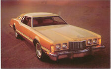 Ford Thunderbird for 1976 original Postcard