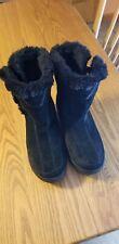 Hi-Tec Winter Women Leather V-Lite Snowflake Chukka Insulated Comfort Boots Sz 7