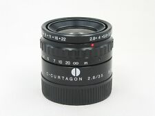 Schneider C-Curtagon Lens 35mm f/2.8 M42 New 871