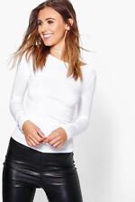 Boohoo Long Sleeve Petite Tops & Blouses for Women