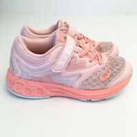 ASICS Noosa PS (Pre) Girl's Running Shoes US K12 (EUR 30) Hook & Loop Sneakers