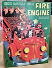 """12.75"""" Golden Book 1974 THE GREAT BIG FIRE ENGINE BOOK Gergely"""