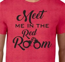 MEET Me in the RED ROOM 50 Shades of Grey Movie Christian Gray Naughty T-Shirt