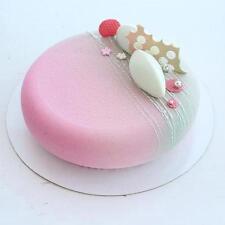 SILICONE SILIKOMART MOLD ECLIPSE PROFESSIONAL ROUND CONFECTIONERY CAKE DESIGN Q