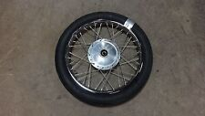 "1968 honda ss125 twin H741-2~ front wheel rim 17"" NICE"